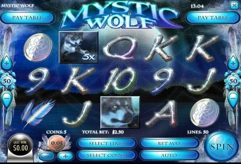 Play Mystic Wolf Slot Machine Free With No Download