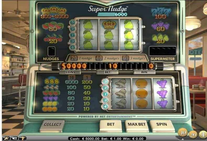 Super Nudge 6000 Slot Machine