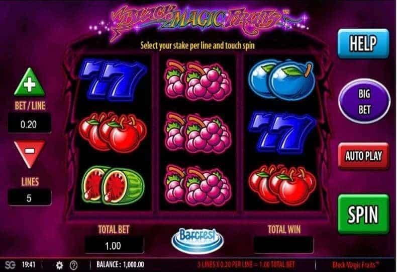 Black Magic Slot Machine