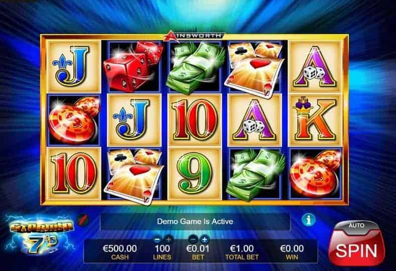 Stormin 7s Slot Machine